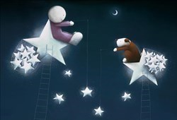 Catch a Falling Star by Doug Hyde - Limited Edition on Paper sized 22x15 inches. Available from Whitewall Galleries